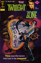 Twilight Zone (The) (Gold Key - 1962) -70- Time was the tyrant that had to be stopped!