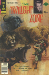 Twilight Zone (The) (Gold Key - 1962) -80- The one danger he could not escape was... himself!