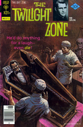 Twilight Zone (The) (Gold Key - 1962) -81- He'd do anything for a laught-even die!