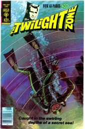 Twilight Zone (The) (Gold Key - 1962) -84- Caught in the swirling depths of a secret sea!