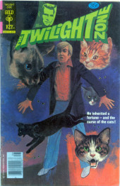 Twilight Zone (The) (Gold Key - 1962) -86- He inherited a fortune-and the curse of the cats!