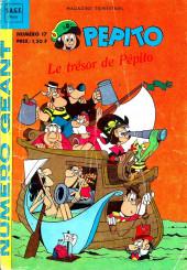 Pepito (3e Série - SAGE) (Pepito Magazine - 2e série) -17- Le trésor de Pépito