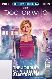 Free Comic Book Day 2019 -8- Doctor Who - The Thirteenth doctor