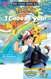 Free Comic Book Day 2019 -12- Pokémon - I choose you!
