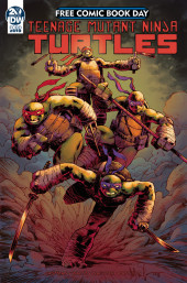 Free Comic Book Day 2019 -5- TMNT Casuality of War