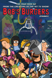 Free Comic Book Day 2019 -25- Bob's Burgers