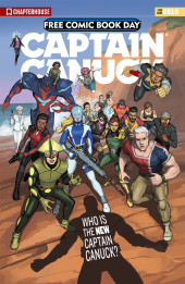Free Comic Book Day 2019 -21- Captain Canuck