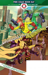 Free Comic Book Day 2019 -14- Dragonfly and Dragonflyman
