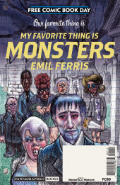 Free Comic Book Day 2019 -29- My Favorite Thing Is Monsters
