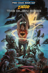 Free Comic Book Day 2019 -27- Zagor The Alien Saga
