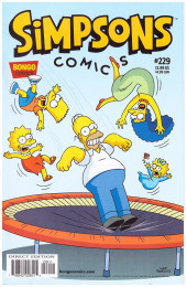 Simpsons Comics (1993) -229- Itchy & Scratchy Live