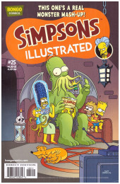 Simpsons Illustrated -25- This one's a real monster mash-up!