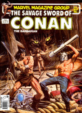 Savage Sword of Conan The Barbarian (The) (1974) -92- The Jeweled Bird!
