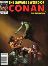 Savage Sword of Conan The Barbarian (The) (1974) -155- Behind the Walls of Night