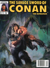Savage Sword of Conan The Barbarian (The) (1974) -157- the Wrath of Crom