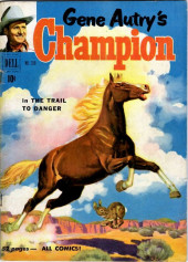 Four Color Comics (Dell - 1942) -319- Gene Autry's Champion in The Trail to Danger