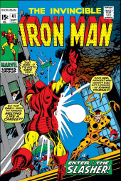 Iron Man Vol.1 (Marvel comics - 1968) -41- The Claws of the Slasher!