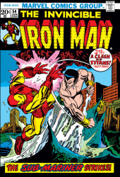 Iron Man Vol.1 (Marvel comics - 1968) -54- Sub-Mariner: Target for Death!