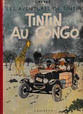 Tintin (Historique) -2B01'- Tintin au Congo