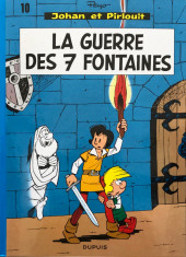 Johan et Pirlouit -10e2017- La guerre des 7 fontaines