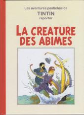 Tintin - Pastiches, parodies & pirates - La créature des abîmes