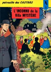 La patrouille des Castors -3c84- L'inconnu de la villa mystère