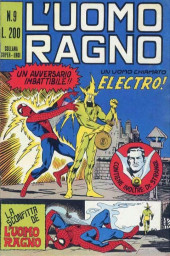 L'uomo Ragno V1 (Editoriale Corno - 1970)  -9- Un Uomo chiamato Electro!