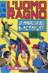 L'uomo Ragno V1 (Editoriale Corno - 1970)  -10- La Minaccia del Dr Octopus!