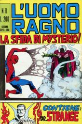 L'uomo Ragno V1 (Editoriale Corno - 1970)  -11- La Sfida di Mysterio!