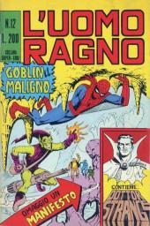 L'uomo Ragno V1 (Editoriale Corno - 1970)  -12- Goblin il Maligno