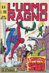 L'uomo Ragno V1 (Editoriale Corno - 1970)  -14- I Sinistri Sei