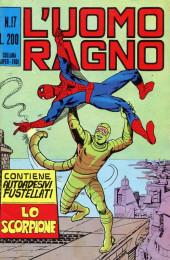 L'uomo Ragno V1 (Editoriale Corno - 1970)  -17- Lo Scorpione