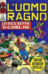 L'uomo Ragno V1 (Editoriale Corno - 1970)  -21- L'Atroce Beffa di Goblin