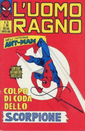 L'uomo Ragno V1 (Editoriale Corno - 1970)  -23- Colpo di Coda dello Scorpione