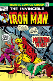 Iron Man Vol.1 (Marvel comics - 1968) -62- Whiplash Returns!