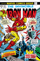 Iron Man Vol.1 (Marvel comics - 1968) -65- The Cutting Edge of Death!