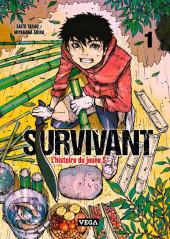 Survivant - L'histoire du jeune S -1- Tome 1