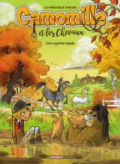 Camomille et les chevaux -5a19- Une superbe balade
