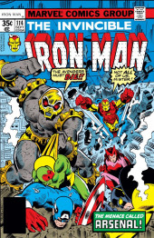 Iron Man Vol.1 (Marvel comics - 1968) -114- The Menace of Arsenal!