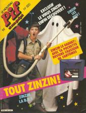Pif (Gadget) -820- la pochette du chasseur de fantômes