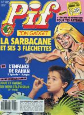 Pif (Gadget) -985- la sarbacane et ses 3 fléchettes