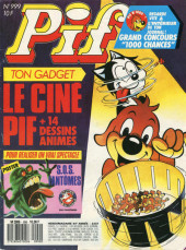Pif (Gadget) -999- le cinépif + 14 dessins animés