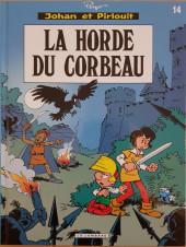 Johan et Pirlouit -14c13- La horde du corbeau