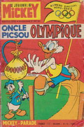Mickey Parade (Supplément du Journal de Mickey) -9- Oncle Picsou Olympique (847 Bis)