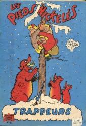 Les pieds Nickelés (3e série) (1946-1988) -41- Les Pieds Nickelés trappeurs