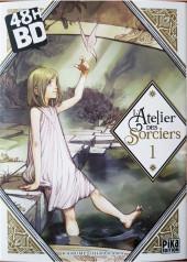 L'atelier des sorciers -148hBD- Volume 1