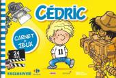 Cédric -J6- Carnet de jeux