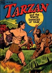 Tarzan (Dell - 1948) -1- Tarzan and The White Savages of Vari