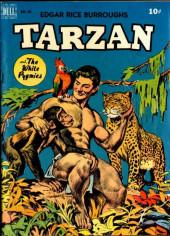 Tarzan (Dell - 1948) -8- Tarzan and the White Pygmies
