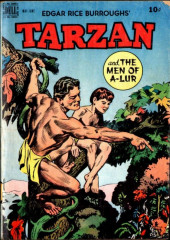 Tarzan (Dell - 1948) -9- Tarzan and the Men of A-Lur